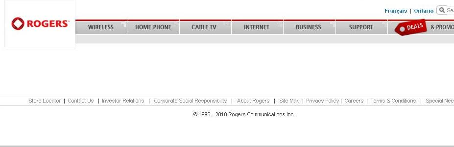 Rogers Empty Page