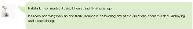 Groupon American Apparel Annoying
