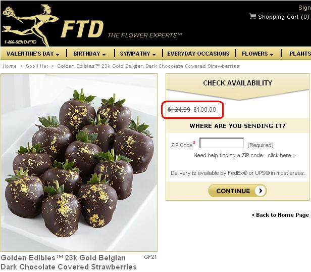 FTD Golden Edibles Main Site