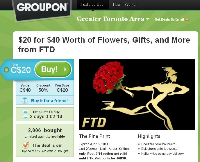FTD CANADA COUPON CODE