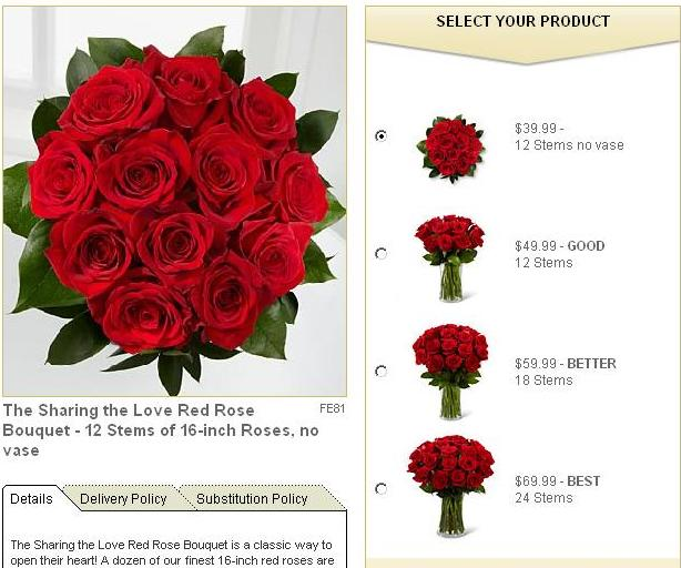 Groupon FTD Roses Love Google Cache