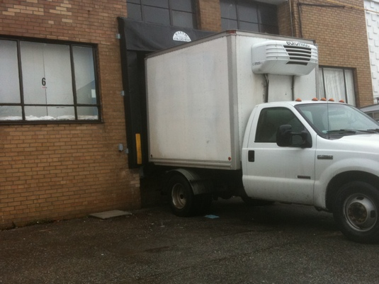 acadian beef white truck