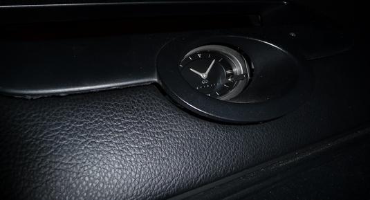 Infiniti Clock Panel Removal 3