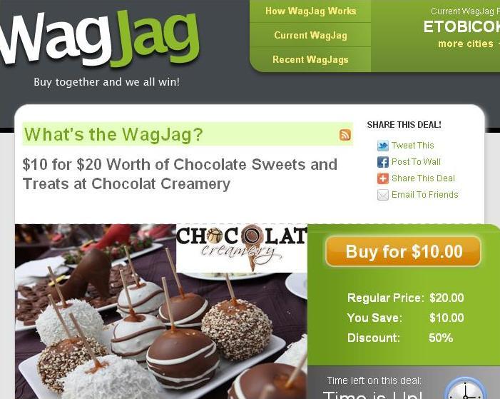 WagJag - Chocolat Creamery Deal