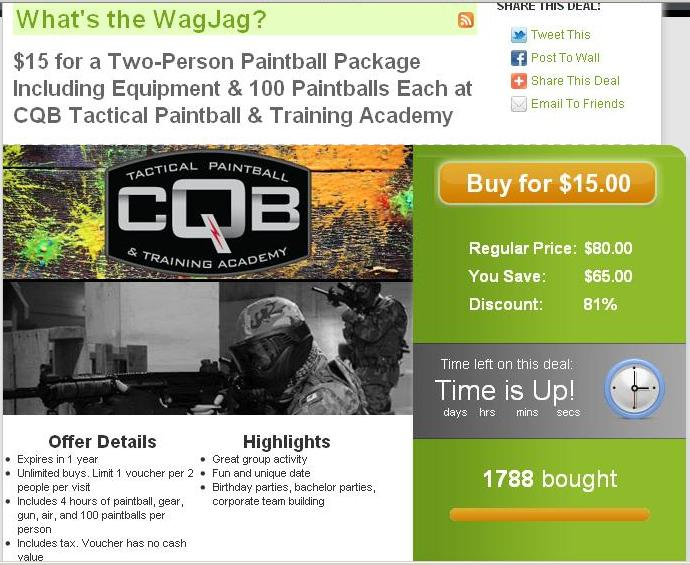 CQB Paintball - WagJag